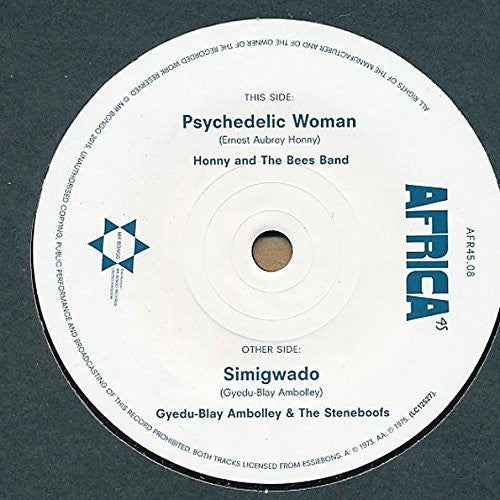 Honny & the Bees Band: Psychedelic Woman / Simigwado