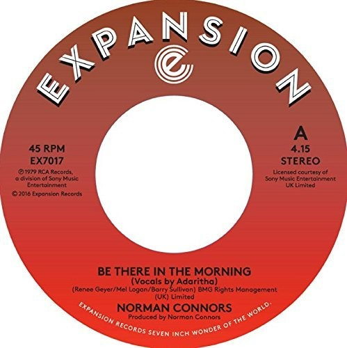 Norman Connors: Be There in the Morning / I Don't Need Nobody Else