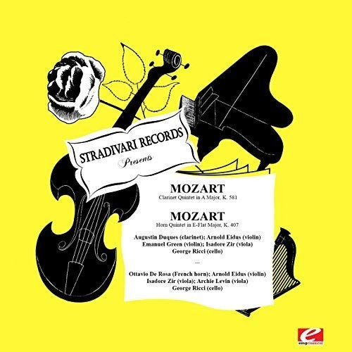 Augustin Duques: Mozart: Clarinet Quintet In A Major K.581 - Horn