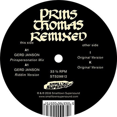 Prins Thomas: Gerd Janson Remixes