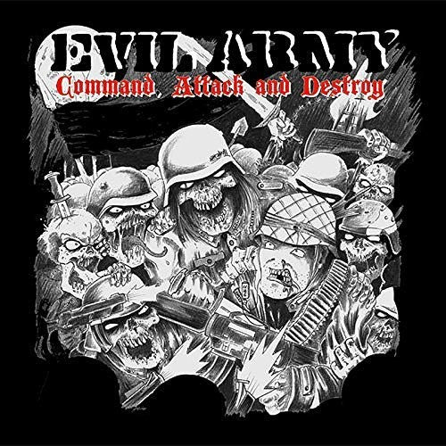 Evil Army: Command Attack & Destroy