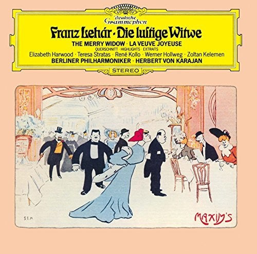 Lehar / Karajan, Herbert Von: Lehar: Merry Widow - Highlights