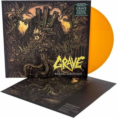 Grave: Burial Ground (Re-issue 2019) (Orange LP)
