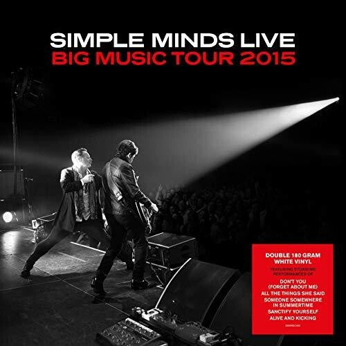 Simple Minds: Big Music Tour 2015: Live