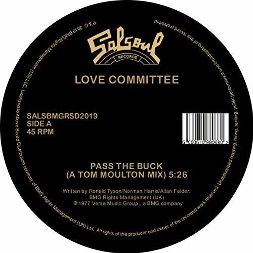 Love Committee: Pass The Buck (Tom Moulton Mix / Joe Claussell Edit)