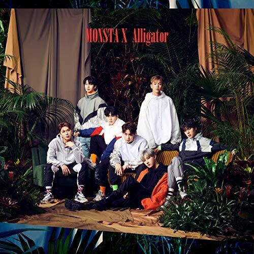Monsta X: Alligator (Japanese Version A) (CD/DVD)