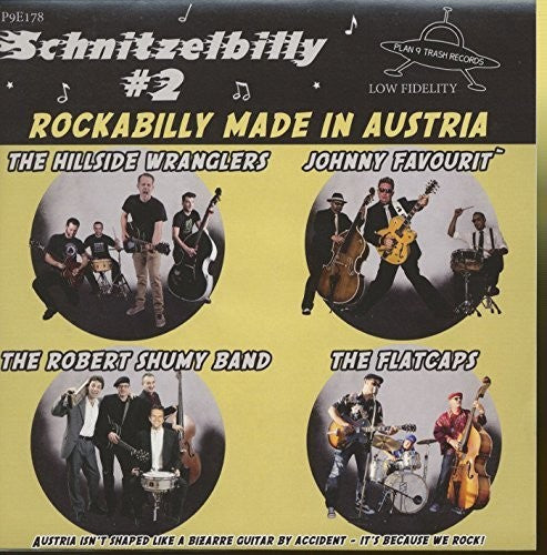 Various Artists: Schnitzelbilly: Rockabilly Made In Austria, Vol. 2