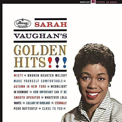 Sarah Vaughan: Golden Hits [Gold Colored Vinyl]