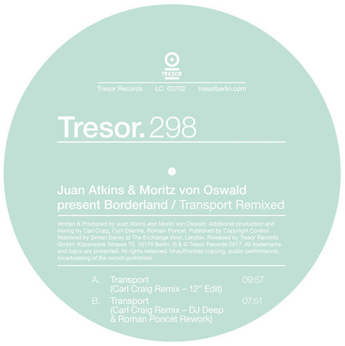Atkins, Juan & Oswald, Moritz Von: Transport Remixed