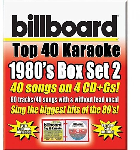 Various Artists: Party Tyme Karaoke: Billboard 1980's Top 40 Karaoke Box Set 2