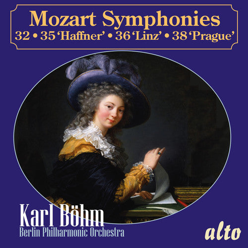 Bohm, Karl / Berlin Philharmonic Orchestra: Mozart: Symphonies 32, 35 Haffner, 36 Linz and 38 Prague