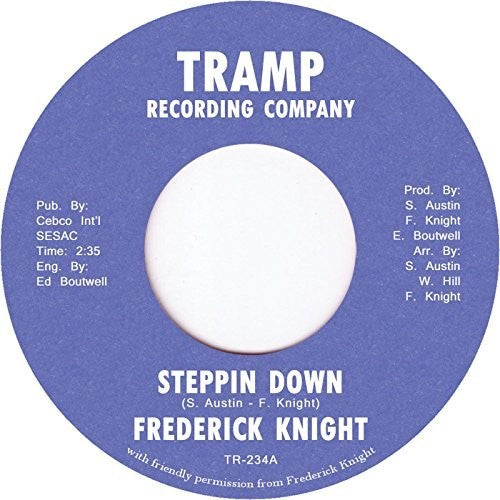 Frederick Knight: Steppin Down