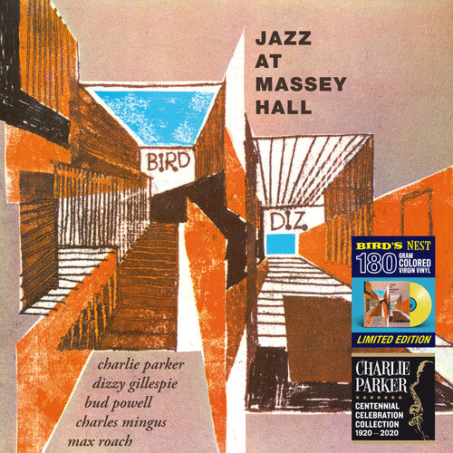 Charlie Parker: Jazz At Massey Hall [Limited 180-Gram Yellow Colored Vinyl]