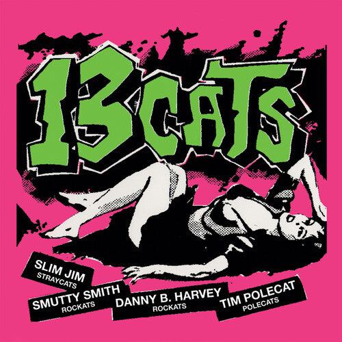 13 Cats: 13 Tracks - Limited Edition Pink Vinyl