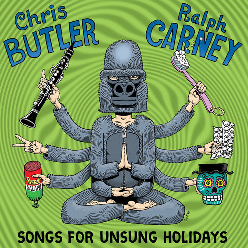 Chris Butler & Ralph Carney: Songs For Unsung Holiodays