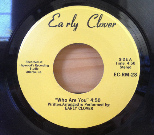 Early Clover: Who Are You / I Wanna Take A Chance On You