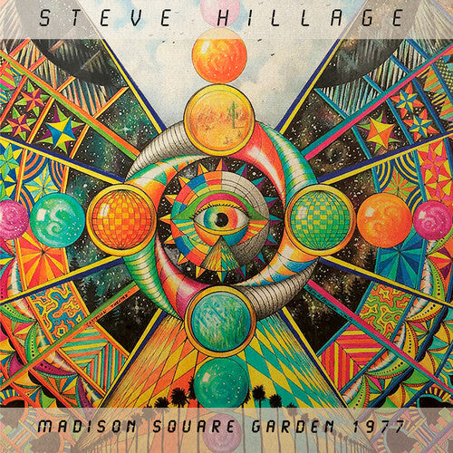 Steve Hillage: Madison Square Garden 1977 - Limited Edition Opaque Orange Vinyl