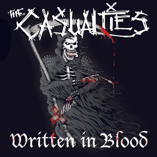 The Casualties: Written In Blood