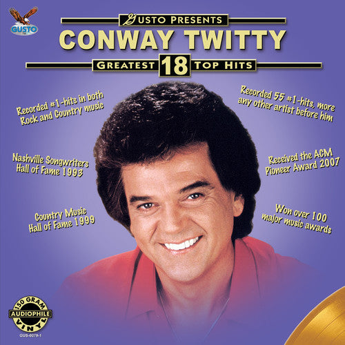 Conway Twitty: Greatest 18 Top Hits