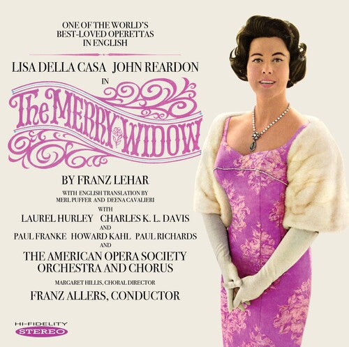 Casa, Della Lisa / Reardon, John: Merry Widow