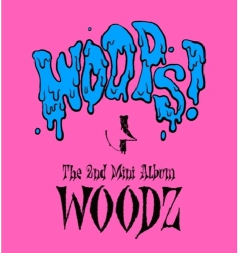 Woodz: Woops! (Random Cover) (incl. 84pg Booklet, 6pc Postcard, 2pc Photocard+ 2pc Stickers)