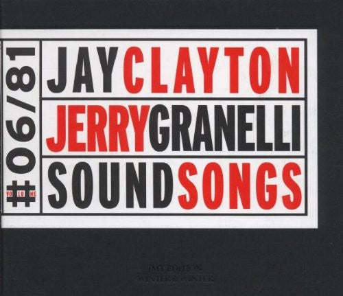 Jay Clayton: Sound Songs