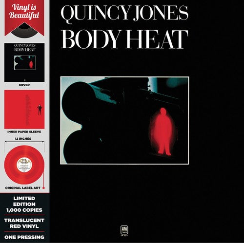 Quincy Jones: Body Heat (red Translucent Vinyl)