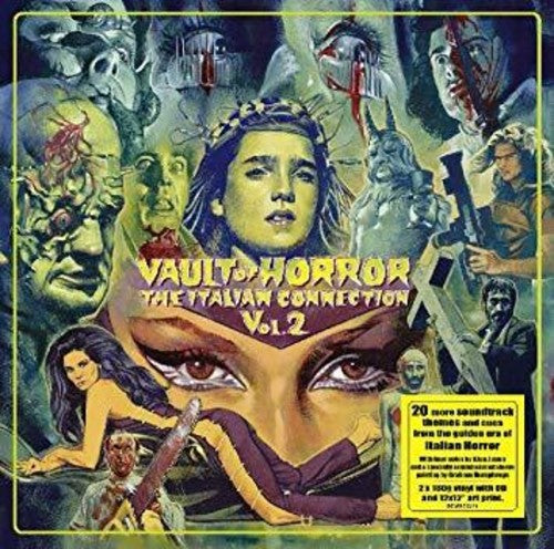 Various Artists: Vault of Horror: The Italian Connection Volume 2