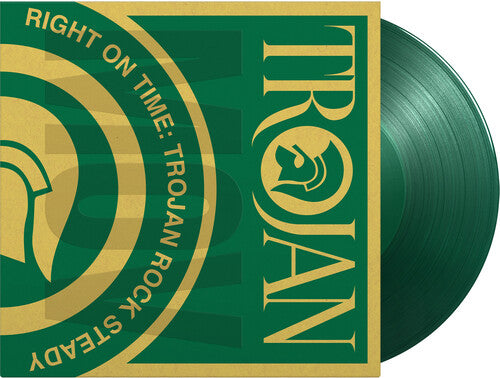 Various Artists: Right On Time: Trojan Rock Steady / Various [Limited 180-GramTranslucent Green Colored Vinyl]