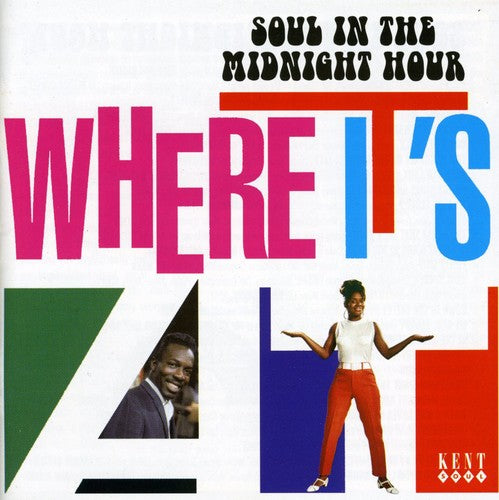 Various Artists: Where It's at: Soul in Midnight Hour / Various