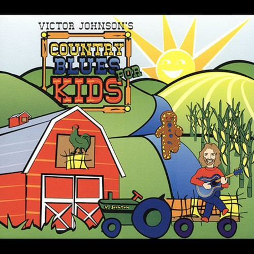 Victor Johnson: Country Blues for Kids