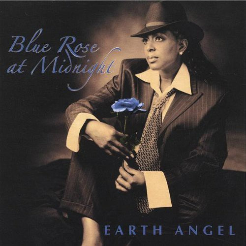 Earth Angel: Blue Rose at Midnight