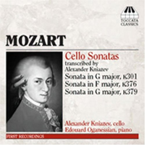 W.a. Mozart: Cello Sonatas