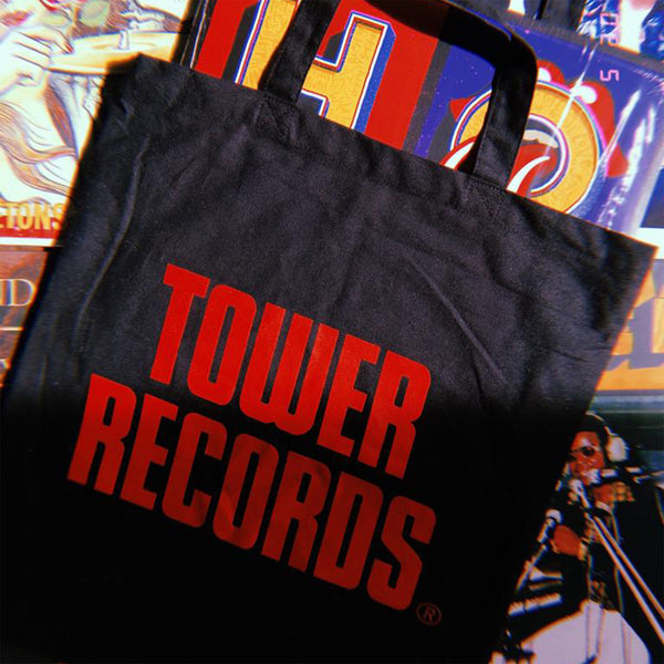 Black Tower Records Tote Bag