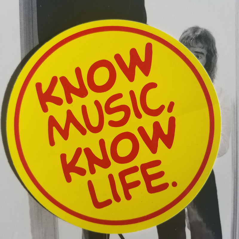 Tower Records - Know Music Know Life sticker