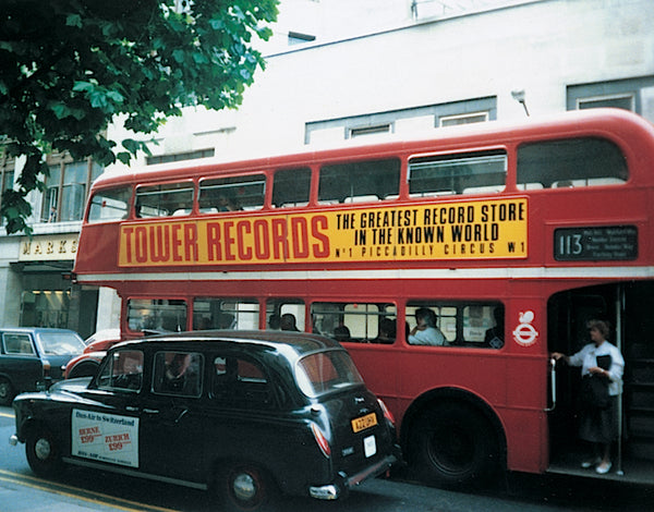 Tower Records London White Long Sleeve Shirt