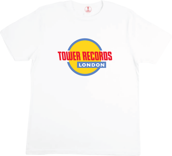 Tower Records London White Shirt