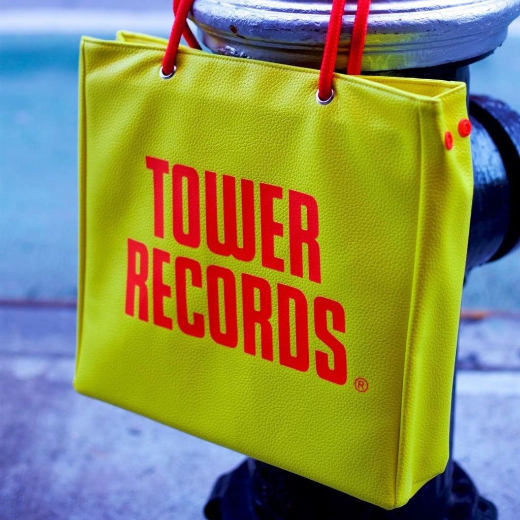 Tower Records Vinyl Tote Bag