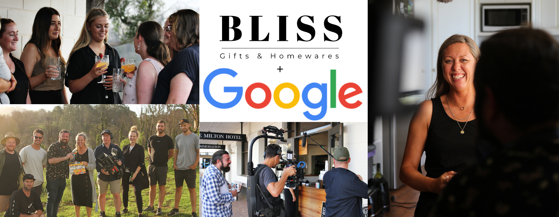 Google visits Bliss to film a short film on how we grew our business further with Google!