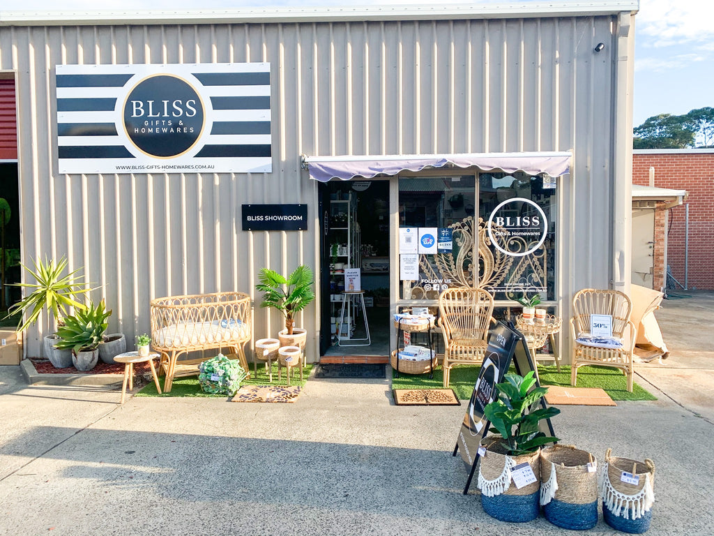 bliss showroom front entrance