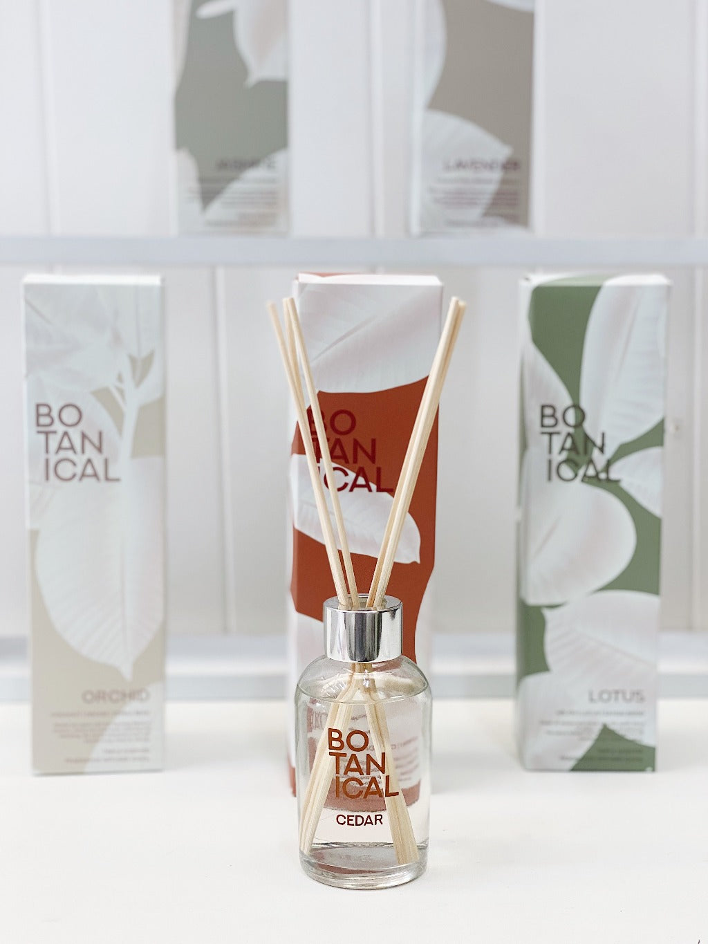 Botanical 100ml Reed Diffuser – Lotus - Salt&Pepper - Dispel all tension and stress with this high-end blend of melon, lotus and sandalwood - Natural essential oils - burn-time of 25 hours |Bliss Gifts & Homewares - Unit 8, 259 Princes Hwy Ulladulla - Shop Online & In store - 0427795959, 44541523 - Australia wide shipping