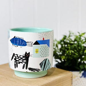 Our range of Bowie Pots - Medium will add a unique and whimsical allure to your home or garden. These gorgeous bright zany pots come in 4 different designs. Each pot features an eccentric abstract pattern design, perfect for all home and garden styles. Measures: 12x12x12.7cm | Bliss Gifts & Homewares | Unit 8, 259 Princes Hwy Ulladulla | South Coast NSW | Online Retail Gift & Homeware Shopping | 0427795959, 44541523