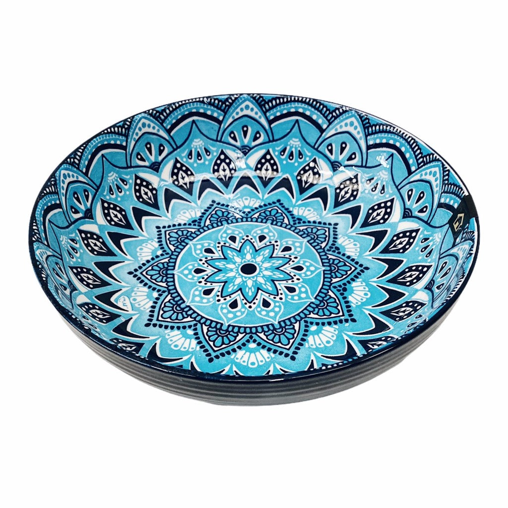 Bring the bright blue tones of the Mediterranean into your dining room with our Casablanca Dining collection - Shallow Serving Bowl. Beautiful pieces of serving ware that will have you entertaining for years to come. Shop online. AfterPay available. Australia wide Shipping | Bliss Gifts & Homewares - Unit 8, 259 Princes Hwy Ulladulla - 0427795959, 44541523