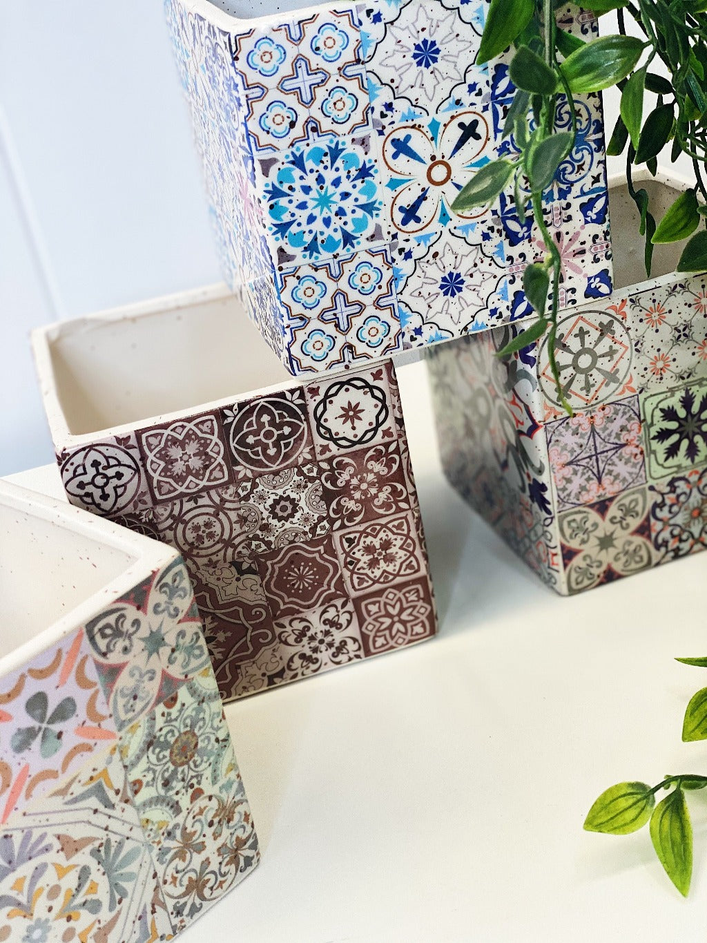 Our ceramic Evelyn Square Pots are the colourful vessel you've been searching for. This gorgeous pot will make the perfect unique addition to your indoor or outdoor garden. 13x13cm. Shop Online. AfterPay Available. Australia Wide Shipping | Bliss Gifts & Homewares - Unit 8, 259 Princes Hwy Ulladulla - 0427795959, 44541523