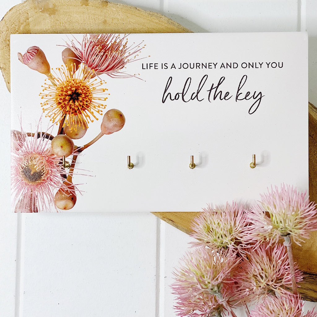 Inspired by the beauty of nature, the Flourish Homewares Range features budding blossoms, wild flowers, and soft, natural textures that tie beautifully into any home. Our Flourish Key Hanger is a Splosh fave and is a functional homewares piece.| Bliss Gifts & Homewares | Unit 8, 259 Princes Hwy Ulladulla | South Coast NSW | Online Retail Gift & Homeware Shopping | 0427795959, 44541523