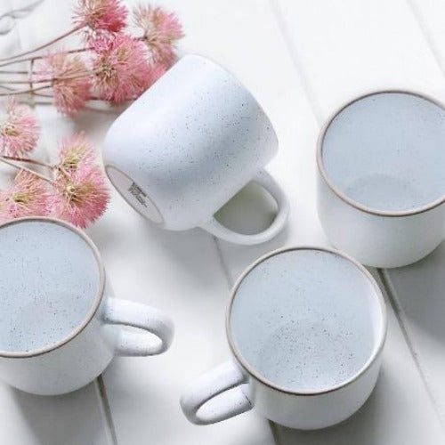 Salt&Pepper | HANA Mugs | White | set of 4 | Bliss Gifts & Homewares | Milton | Online & In-store | 0427795959 | Afterpay available