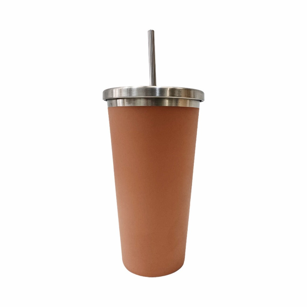 Stay hydrated on-the-go with salt&pepper's 570ml Hydra Cup with Straw in Clay. This double-walled vacuumed-insulated stainless-steel cup with straw will keep your beverages hot or cold for longer. Shop online. AfterPay available. Australia wide Shipping | Bliss Gifts & Homewares - Unit 8, 259 Princes Hwy Ulladulla - 0427795959, 44541523