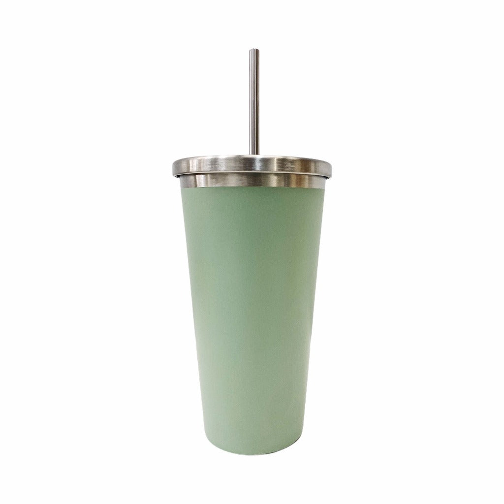 Stay hydrated on-the-go with salt&pepper's 570ml Hydra Cup with Straw in Sage. This double-walled vacuumed-insulated stainless-steel cup with straw will keep your beverages hot or cold for longer. Shop online. AfterPay available. Australia wide Shipping | Bliss Gifts & Homewares - Unit 8, 259 Princes Hwy Ulladulla - 0427795959, 44541523
