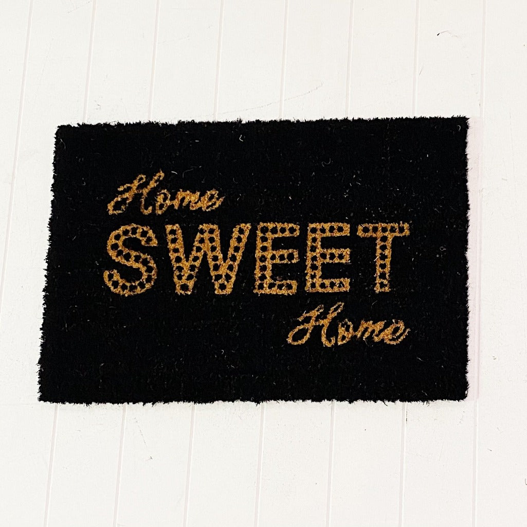 Style your front entrance, the first impression of your home, with our Home Sweet Home Door Mat. Our range of affordable door mats have interesting, on trend designs in a variety of sizes. Make finding a door mat to compliment your home easy.| Bliss Gifts & Homewares | Unit 8, 259 Princes Hwy Ulladulla | South Coast NSW | Online Retail Gift & Homeware Shopping | 0427795959, 44541523