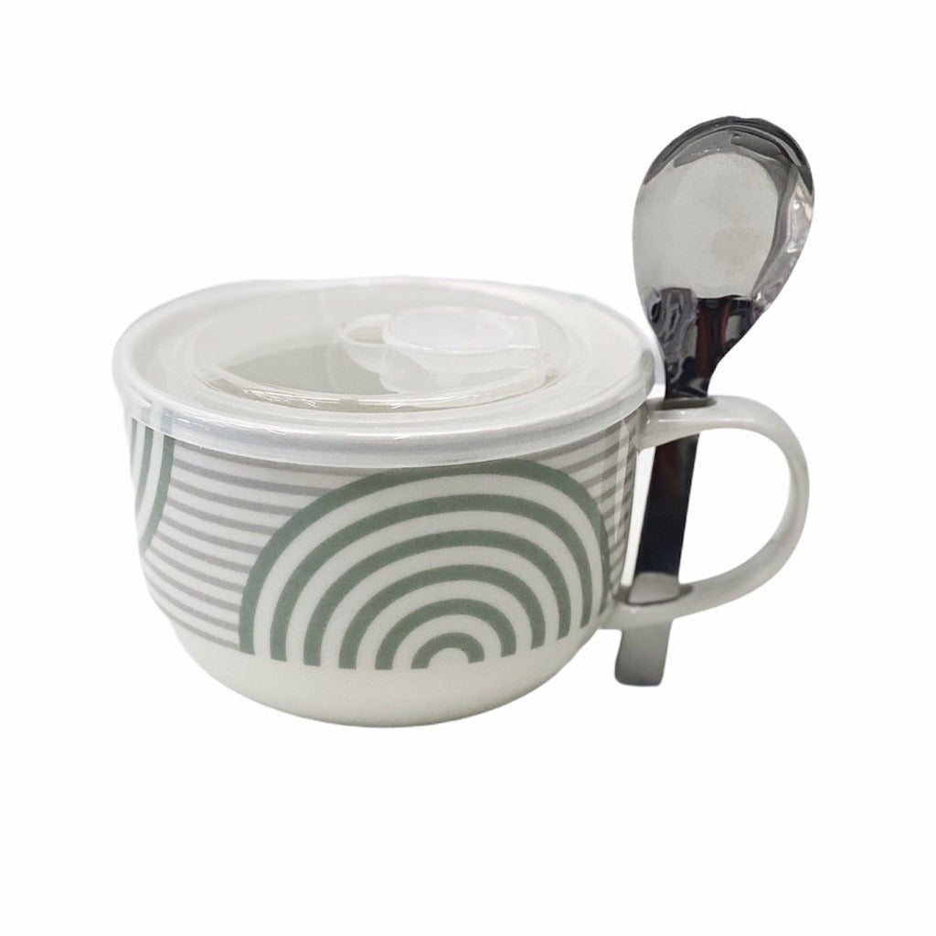 Store, transport, reheat and serve with the Lunch2Go Soup Mug from salt&pepper. Crafted from new bone china, the Lunch2Go Soup Mug comes with an airtight, vented BPA free lid and a stainless steel spoon. 520ml.| Bliss Gifts & Homewares | Unit 8, 259 Princes Hwy Ulladulla | South Coast NSW | Online Retail Gift & Homeware Shopping | 0427795959, 44541523